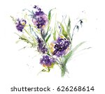 Floral Bouquet With Different...