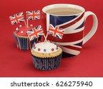 British Themed Cupcakes