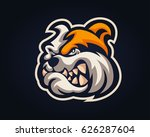 confidence angry dog breed... | Shutterstock .eps vector #626287604