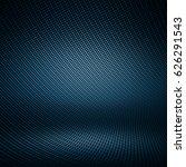 Modern Dark Blue Carbon Fiber...