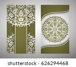 flyer  cover  pattern mandala.... | Shutterstock .eps vector #626294468