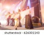 disfocus of the award ceremony... | Shutterstock . vector #626301143
