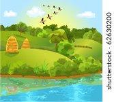 natural landscape | Shutterstock .eps vector #62630200