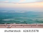 beach and ocean view from... | Shutterstock . vector #626315378