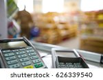 convenience store checkout | Shutterstock . vector #626339540