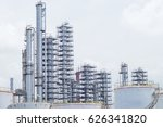 oil and gas industry refinery... | Shutterstock . vector #626341820