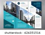 business brochure. flyer design.... | Shutterstock .eps vector #626351516
