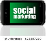 social marketing. mobile smart...