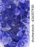 macro photo of blue sapphire... | Shutterstock . vector #626357930