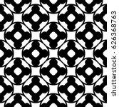 raster monochrome seamless... | Shutterstock . vector #626368763