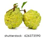 sugar apple custard apple ... | Shutterstock . vector #626373590