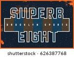 sports t shirt graphic | Shutterstock .eps vector #626387768