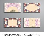 visiting card and business card ... | Shutterstock .eps vector #626392118