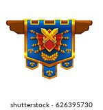cartoon achievement coat of...