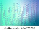 Low Polygonal Background  Blue...