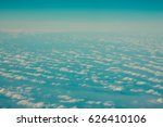 clouds and sky as seen through... | Shutterstock . vector #626410106
