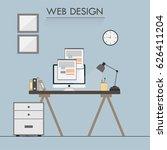 web designer workspace