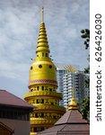 Small photo of Buddhist temple. Malaisia, February 2015.