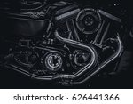 motorcycle engine engine... | Shutterstock . vector #626441366