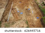 Archaeological Dig Site Of Two...