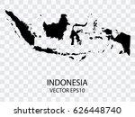 transparent   vector black map... | Shutterstock .eps vector #626448740