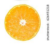 Sliced Round Fresh Orange...