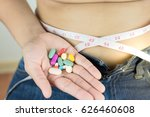 weight loss unhealthy and... | Shutterstock . vector #626460608