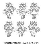 vector  illustration  outline ... | Shutterstock .eps vector #626475344