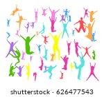hurray team together we... | Shutterstock .eps vector #626477543