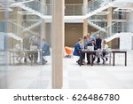 business team and coworkers are ... | Shutterstock . vector #626486780