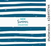 summer discount cards design....   Shutterstock .eps vector #626495744