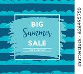 summer discount cards design....   Shutterstock .eps vector #626495750