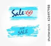 geometrical social media sale...   Shutterstock .eps vector #626497988
