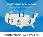 business startup work moments... | Shutterstock .eps vector #626499173