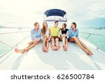 friendship and vacation. group... | Shutterstock . vector #626500784