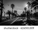 barcelona dock | Shutterstock . vector #626501309