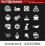 bio fuel industry icons set for ... | Shutterstock .eps vector #626522846