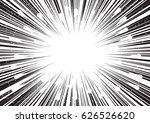 background of radial lines for... | Shutterstock .eps vector #626526620