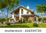 3d rendering of modern cozy... | Shutterstock . vector #626534720