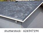 bitumen tile roof. roof... | Shutterstock . vector #626547194