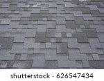 close up view on asphalt... | Shutterstock . vector #626547434