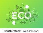 creative infographic banner... | Shutterstock .eps vector #626548664