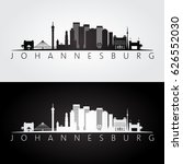 johannesburg skyline and