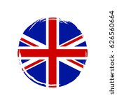 united kingdom flag grunge... | Shutterstock .eps vector #626560664