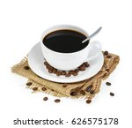 cup of coffee isolated | Shutterstock . vector #626575178