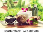Spa Still Life With Herbal Bal...