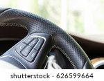element of steering wheel with... | Shutterstock . vector #626599664