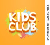 Kids Club Fun Letters In...