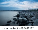 Dnipro River Embankment In...