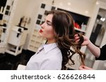 the master of hairstyles does... | Shutterstock . vector #626626844